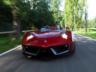 обои Spada Vetture Sport Codatronca Monza на трассе фото