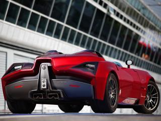 обои Spada Vetture Sport Codatronca Monza сзади фото