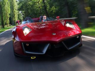 обои Spada Vetture Sport Codatronca Monza трасса фото