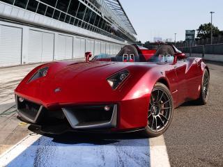 обои Spada Vetture Sport Codatronca Monza у боксов фото