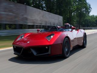 обои Spada Vetture Sport Codatronca Monza уроган фото
