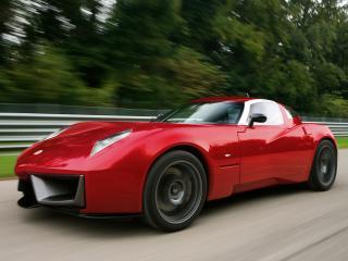 обои Spada Vetture Sport Codatronca TS красный фото