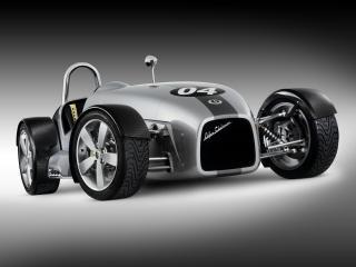 обои Elfin Clubman MS8 Concept 2004 передок фото