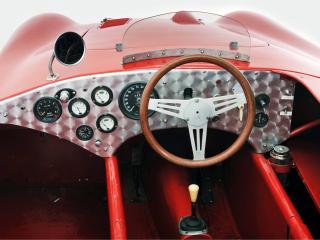 обои Kieft 1500 Sports 1954 руль фото