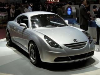 обои Tata Aria Coupe Concept боком фото