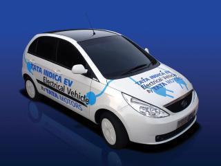 обои Tata Indica Vista EV Concept белый фото