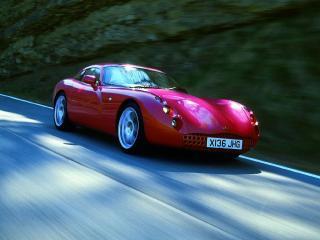 обои TVR Tuscan красный фото