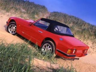 обои TVR V8 S на песке фото