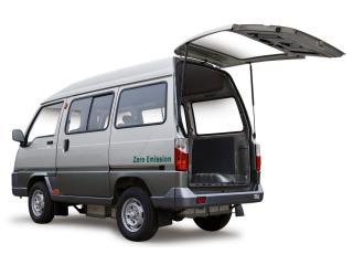 обои ZAP Van Shuttle открыта дверь фото