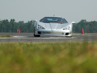 обои Shelby Super Cars Aero-S поворот фото