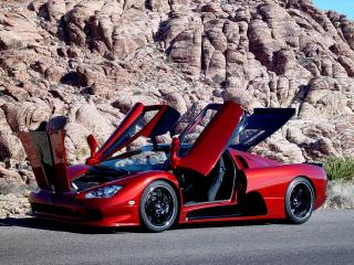 обои Shelby Super Cars Ultimate Aero все открыто фото