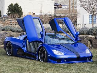 обои Shelby Super Cars Ultimate Aero открыты двери фото