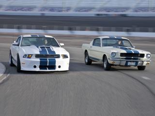 обои Shelby GT350 красавцы фото