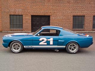 обои Shelby GT350H SCCA B-Production Race Car бок фото