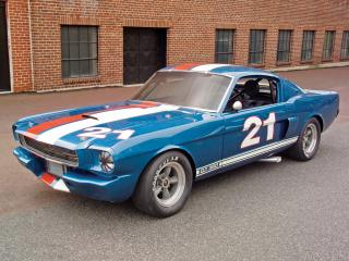 обои Shelby GT350H SCCA B-Production Race Car боком фото