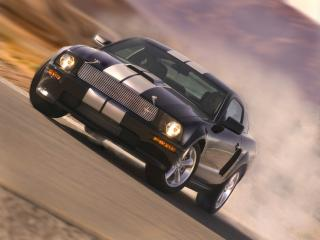 обои Shelby GT пыль фото