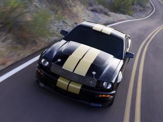обои Shelby GT-H на дороге фото