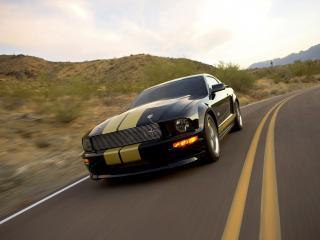 обои Shelby GT-H поворот фото