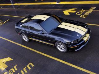 обои Shelby GT-H сверху фото