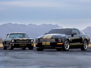 обои Shelby GT-H старечок фото