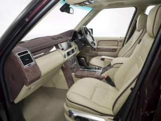 обои Overfinch Range Rover Country Pursuits Concept салон фото