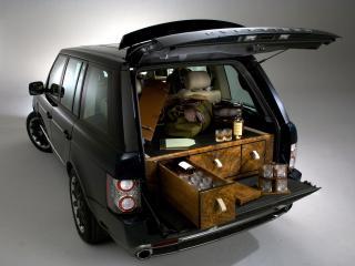 обои Overfinch Range Rover Holland & Holland багажник фото