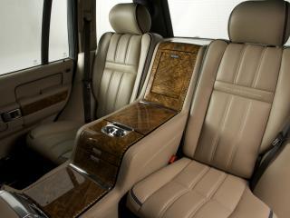 обои Overfinch Range Rover Holland & Holland задние места фото