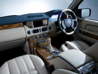 обои Overfinch Range Rover Holland & Holland салон фото