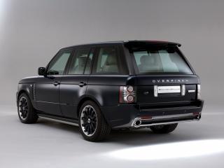 обои Overfinch Range Rover Holland & Holland сзади фото