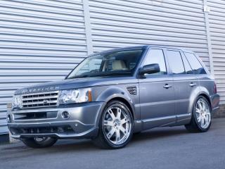 обои Overfinch Range Rover Sport 2008 сбоку фото