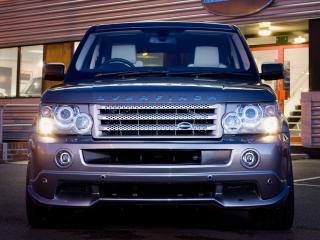 обои Overfinch Range Rover Sport 2008 спереди фото