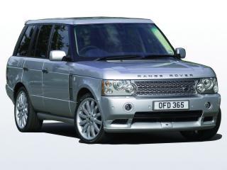 обои Overfinch Range Rover спереди фото