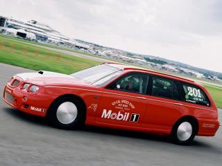 обои MG ZT-T V8 Bonneville Speed Week Record Car сбоку фото