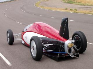 обои SO-CAL Bonneville Lakester Racer сзади фото