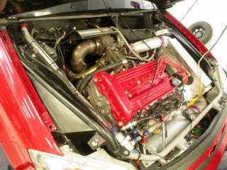 обои SO-CAL Chevrolet Cobalt SS двигатель фото