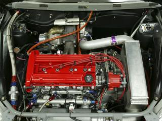 обои SO-CAL Chevrolet Cobalt SS мотор фото