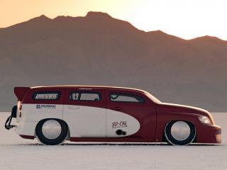 обои SO-CAL Chevrolet HHR сбоку фото
