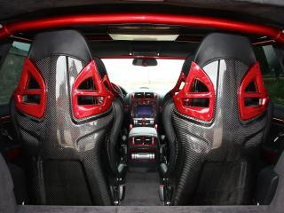 обои ENCO Porsche Cayenne 700 GT Biturbo Gladiator сиденья фото