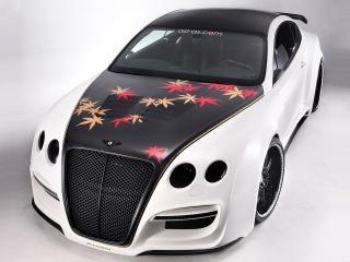 обои ASI Bentley Continental GT Tetsu GTR 2009 боком фото