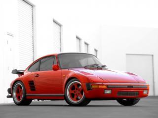 обои Ruf 911 Turbo Slantnose боком фото