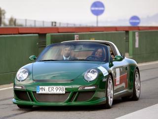 обои Ruf eRuf Greenster Concept спереди фото