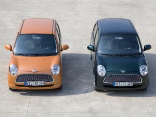 обои Daihatsu Trevis двое спереди фото
