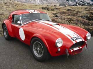 обои AC Cobra Le Mans (MkI) 1963 красный фото