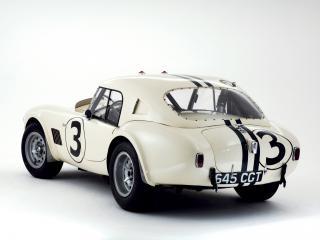 обои AC Cobra Le Mans (MkI) 1963 сзади фото