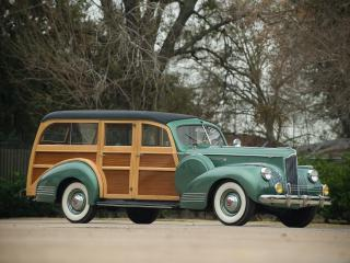 обои Packard 120 Deluxe Station Wagon 1941 бок фото
