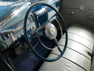 обои Packard 120 Deluxe Station Wagon 1941 руль фото