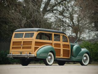 обои Packard 120 Deluxe Station Wagon 1941 сзади фото