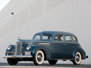 обои Packard 120 Touring Sedan 1941 спереди фото