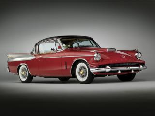 обои Packard Hawk красный фото