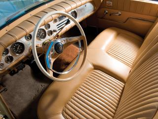 обои Packard Hawk руль фото